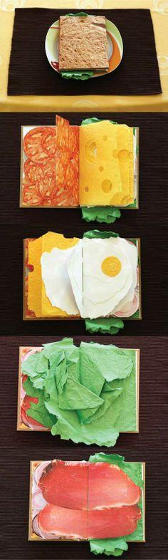 The Sandwich Book by Pawel Piotrowski.