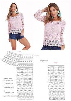 Crochet Blouse, Crochet Hooks, Crochet Patterns, Lace, Tops, Women, Fashion, Off Shoulder Blouse, Bias Tape