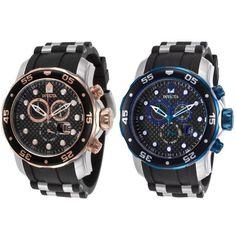 Invicta Men's Pro Diver Chronograph #Invicta #Chronograph