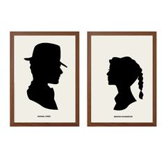 INDIANA JONES  and Marion Ravenwood Poster  : 80s by sealhouette