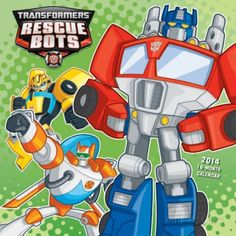 Transformers Rescue Bots - 2014 Calendar Calendars at AllPosters.com