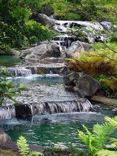 Japanese Garden - Botanical Gardens - Montreal, Quebec, Canada
