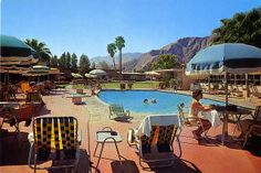 The Oasis Western Motel Palm Springs CA
