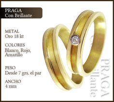 Fábrica de alianzas de oro y plata para casamientos y cumpleaños. Anillos de oro, de plata y cintillos. Joyerías Big Ben. Buenos Aires.