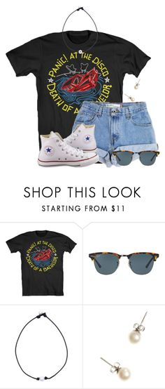 Jailhouse Rock by flroasburn ❤ liked on Polyvore featuring Levis, Converse, Ray-Ban and J.Crew