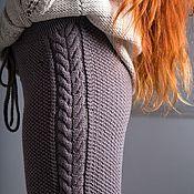 Стильные вязаные брючки,гамаши,леггинсы. 100% шерсть Alize – купить или заказать в интернет-магазине на Ярмарке Мастеров | Моднющие брючки на кулиске. Модель не только…