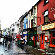 Galway Ireland--Ireland's unofficial arts capital where the ancient Gaelic love for language and music flourishes. Galway is one of the fastest growing cities in Europe.