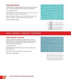 Мобильный LiveInternet Мотивы крючком - Crochet Stitches VISUAL Encyclopedia | MerlettKA - © MerlettKA® ™ | Mesh, Stitch, Projects, Fabric, Log Projects, Tejido, Full Stop, Blue Prints, Tela