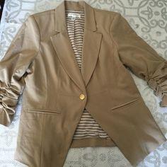 Blazer Gold button 3/4 sleeves Studio JPR  Jackets & Coats Blazers