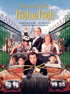 Richie Rich. Macaulay Culkin and John Larroquette star in this live action adaptation of the comic book adventures of an extremely rich boy and his efforts to do good in the world. Amazon Affiliate Link.