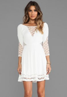 Free People To The Point Mini Dress on shopstyle.com
