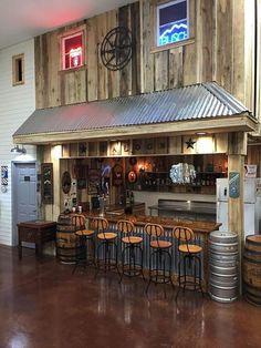 80 best basement bar ideas cool home bar designs 12 Metal Barn Homes, Metal Building Homes, Pole Barn Homes, Pole Barns, House Building, Man Cave Garage, Garage Pub, Garage Loft, Garage Walls