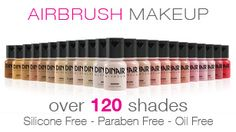 Airbrush Makeup – High Definition Airbrush Makeup by Dinair: Called their 1-800 number in Feb 2013 and was confirmed by agent that ALL of Dinair Airbrush Makeup was GLUTEN FREE!!!