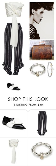 """The Vampires Sister"" by amory-eyre ❤ liked on Polyvore featuring Prada, River Island and Delpozo"