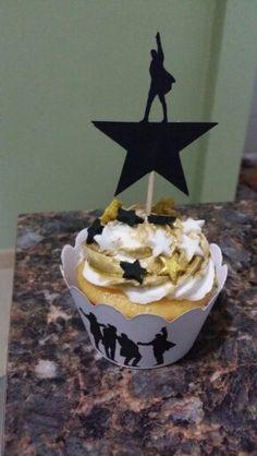 Hamilton cupcakes