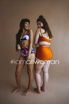 Read the interview with founders Charli Howard and Clémentine Desseaux about why they started body positive campaign #iamallwoman, featuring Iskra Lawrence and Barbie Ferreira.