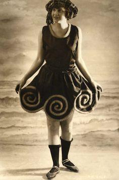 Beach dress ca. 1921