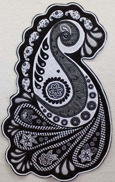 """Quilted Inspirations: """"She's A Zentangle"""""""