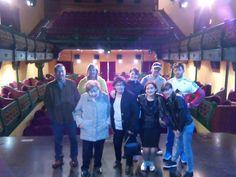 Nuestra visita guiada del 16 de abril en el Teatro Casino Liceo.  #turismosantoña #santoñateespera