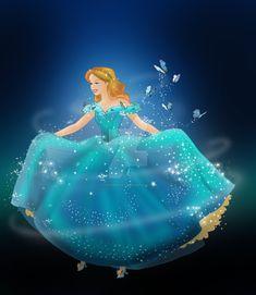 Walt Disney- Cinderella Live action by FortuRaider Cinderella Live Action, Walt Disney Cinderella, Disney Princess Cinderella, Disney Dream, Cute Disney, Cinderella 2015, Images Disney, Disney Pictures, Cinderella Pictures