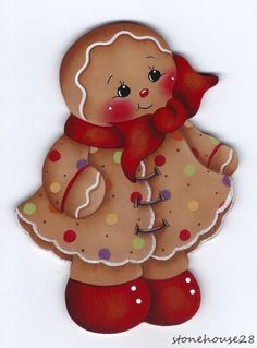 HP GINGERBREAD Little Miss Spice FRIDGE MAGNET | eBay