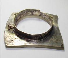 Roxy Lentz bracelet of re purposed materials
