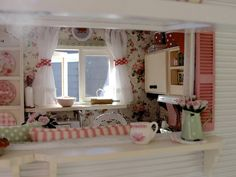 A peek inside 1:12 | by It's a miniature life...is playing with clay
