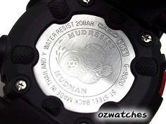 CASIO G-SHOCK MUDMAN MENS WATCH G-9000-1 FREE EXPRESS BLACK G-9000-1V DIGITAL