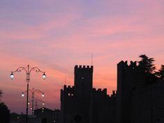 Marostica - castello inferiore - provincia di Vicenza. 45°44′44″N 11°39′19″E
