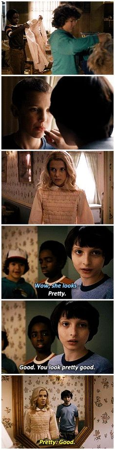 Stranger Things | Chapter Four #eleven x mike #1.04 <<< Lucas: dude, your crush is showing