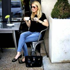 Krystal Schlegel - Fashion blog - Personal Style : Coffee with Amy