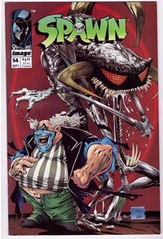 Spawn #14 Sept 1993 Image Comic Book First Printing Todd McFarlane Myths