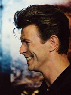 David Bowie's gorgeous smile | 90s
