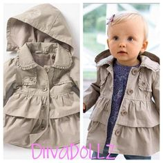 Doll Trench Coat from DIIVA'DOLLZ on Storenvy