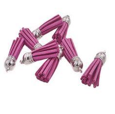 Tassels - Small Tassels - 10 Light Plum Purple - Jewelry Tassel - Decorative Tassels for Jewelry - Purse Tassel - Key Chain Tassel - TC-S043 #tasselcharms #tassels