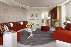 thinking about a circular living room in the center of the house