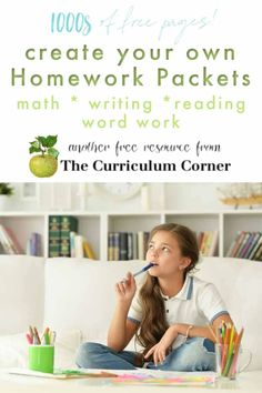 Just updated! Huge collection of no prep pages for creating homework packets for distance learning. You will find 1000s of pages covering many subjects and grades.