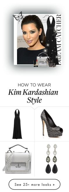 """Outfit which will rock this hairstyle"" by shailja787 on Polyvore featuring Elie Saab, Marc Jacobs, Giuseppe Zanotti, Oscar de la Renta and Dolce&Gabbana"