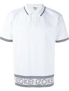 43d40eb59 Kenzo print polo shirt Polo Shirt Style, Printed Polo Shirts, Kenzo,  Fashion 2018