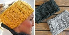Winter Wide Braided Headbands - New Colors added! - Fast Ship