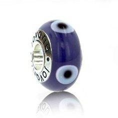 1a5234776 ... ebay evil eye greek mataki mati genuine murano glass bead 925 sterling  454d1 decbe