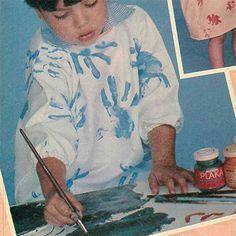 Jurkies vir klein kunstenaartjies Sewing Clothes, Painting, Stitch Clothing, Painting Art, Paintings, Painted Canvas, Drawings, Dress Sewing