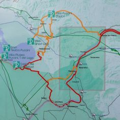 #Itinerario #ciclopedonale #Puccini