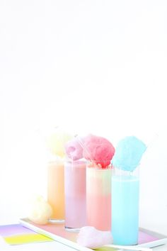 Pastel Cotton Candy Cream Soda