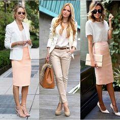 Tons claros remetem a elegância e sofisticação♥