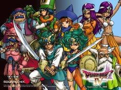 Dragon Quest IV: Chapters of the Chosen - brilliant game! Video Game Movies, Video Game Art, Video Games, Dragon Warrior, Dragon Quest, Ipad Air, Star Ocean, Pokemon, King Of Fighters