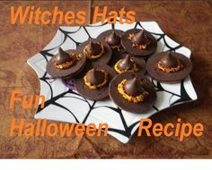 Quick and Easy Halloween Desserts | Easy Halloween Recipes Halloween Witches Hats