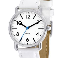Michael Graves White Ladies Witherspoon Watch