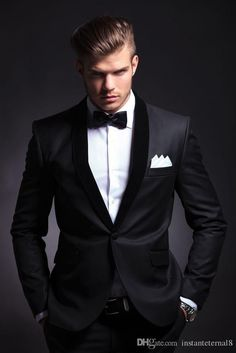 New Bespoke Mens Suits Classic Terno Slim Gray Mens Suits Wedding Groom Tuxedos 2 Pieces Jacket+Pant Men's Tuxedo Wedding, Black Suit Wedding, Wedding Men, Wedding Suits, Wedding Groom, Wedding Dresses, Tuxedo Suit, Tuxedo For Men, Groomsmen Suits