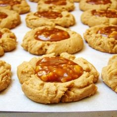 Peanut Butter Cookie + Salted Peanut Caramel = Don't fight the feeling, baby.